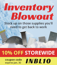 Inventory Blowout | Save 10% off Storewide | coupon code: INBL10 | sales ends Jan. 30, 2015