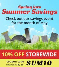 Spring into Summer Savings | Save 10% off Storewide with the coupon: SUM10 | May 12 - May 26, 2015