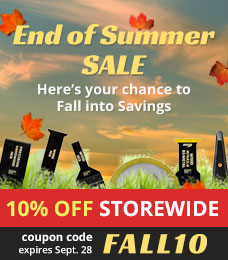 End of Summer Sale | Save 10% off STOREWIDE | Sep 14 - Sep 28, Use the coupon code FALL10
